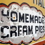 Homemade cream pies